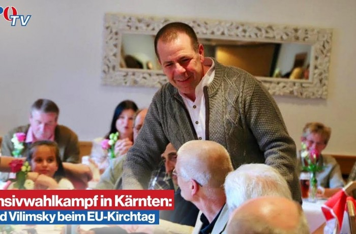 Harald Vilimsky am EU-Kirchtag in Afritz am See